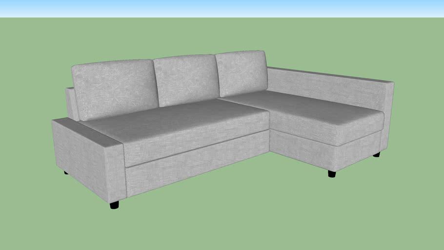 Ikea L Shape Sofa 3d Warehouse, L Shape Sofas Ikea