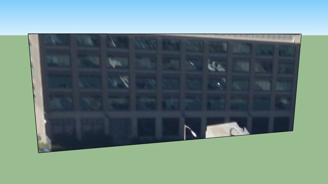 Bâtiment situé San Francisco, Californie, États-Unis