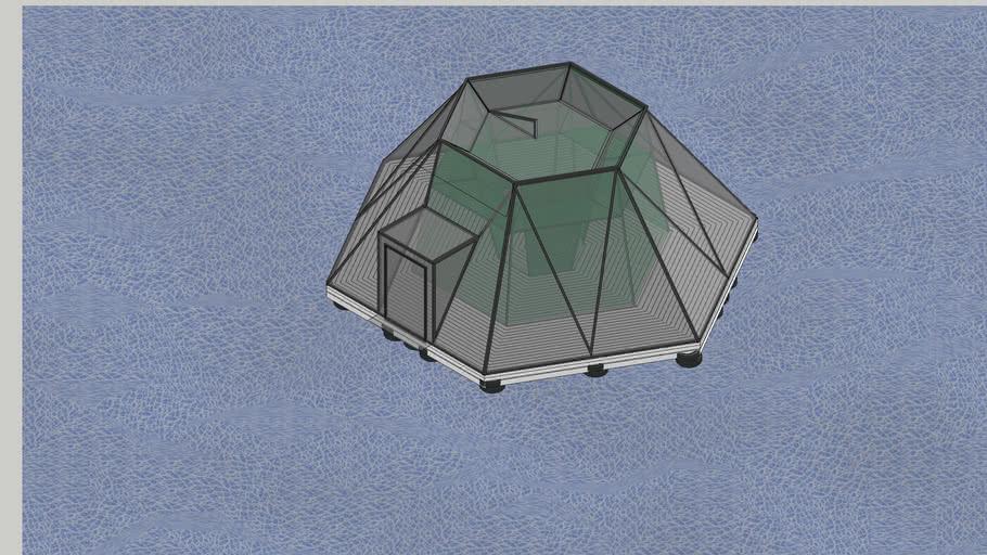 Floating Greenhouse Animation