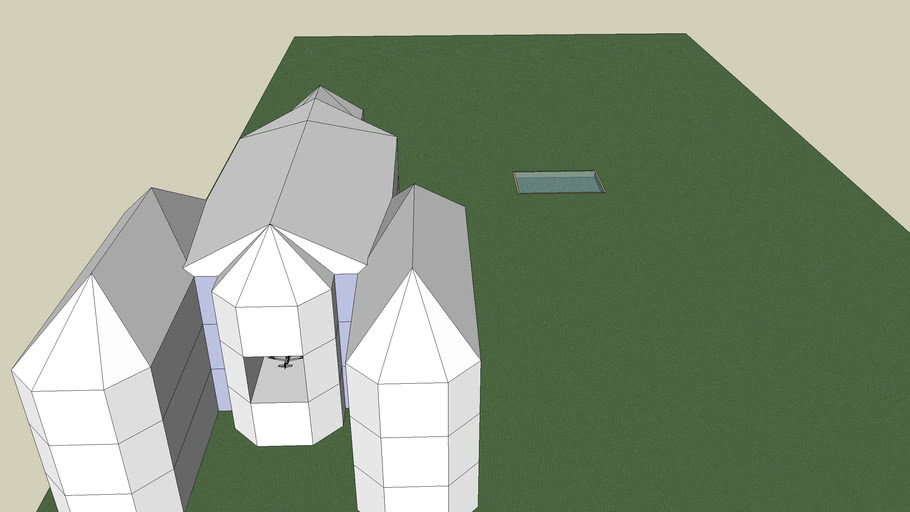 Villa with Tunnel for air plane!