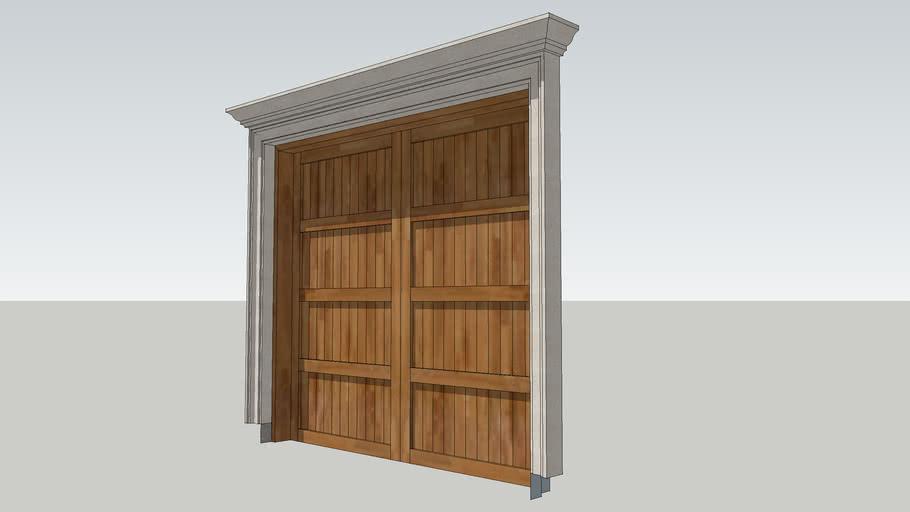 9' Garage Door