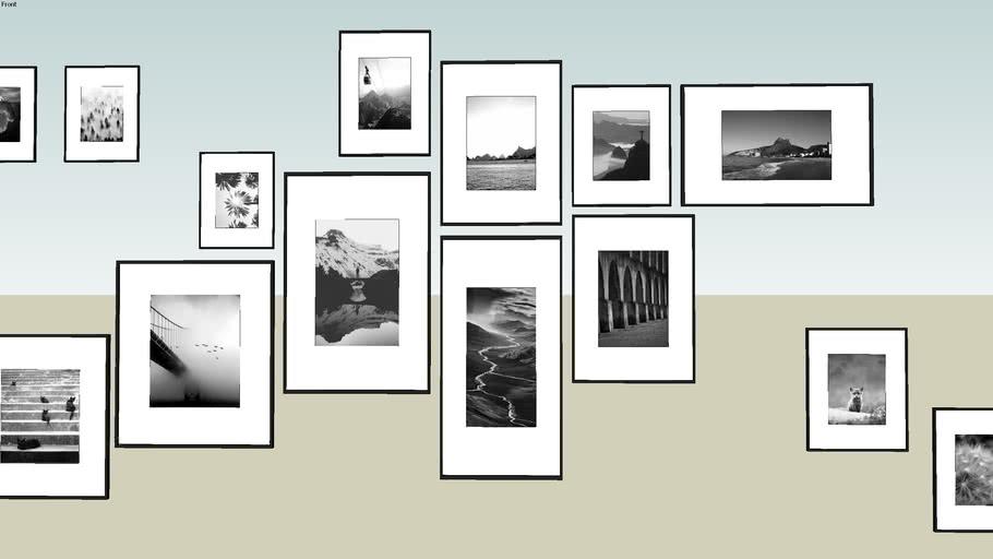 Frame display composition
