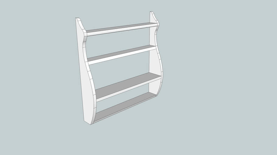 Whale Tail Shelves from Popular Woodworking Magazine December 2006 Issue