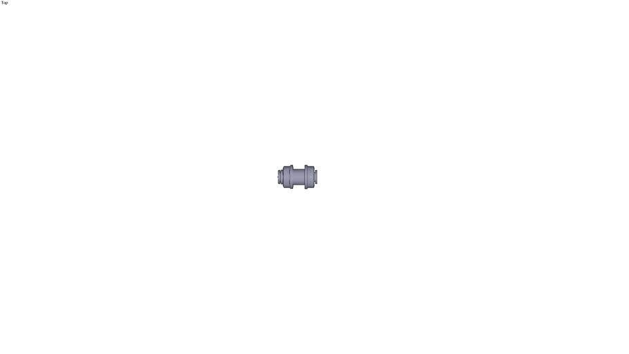 3116 - BULKHEAD CONNECTOR DIAM D 1/4 INC DIAM D1 null DIAM D2 null