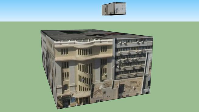 Building in Piraeus, Greece