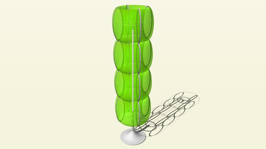 Aura green - Standing Floor Lamp v1