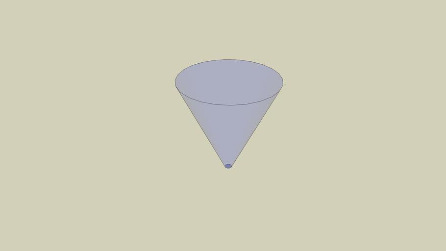 Simple Inverted Cone
