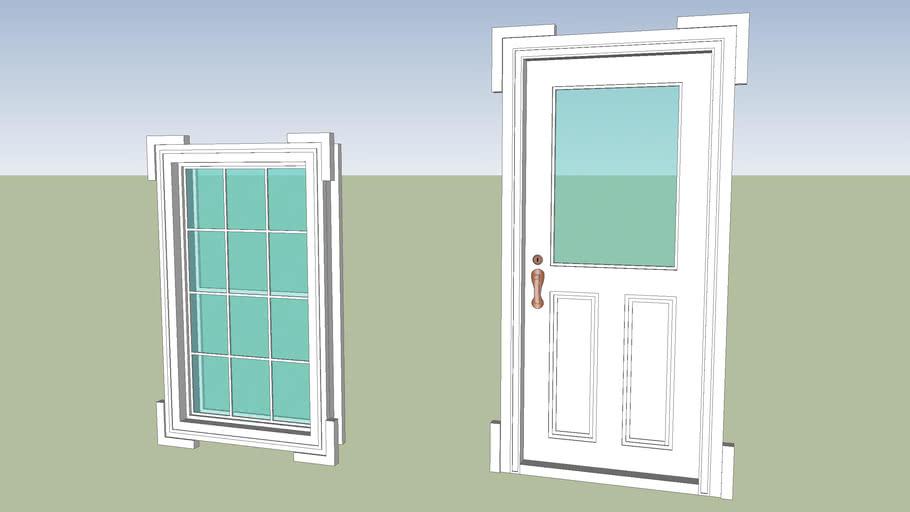 Classic Door and windows