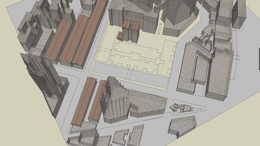 武汉理工大学建筑系09年06级汉口辅义里建筑测绘
