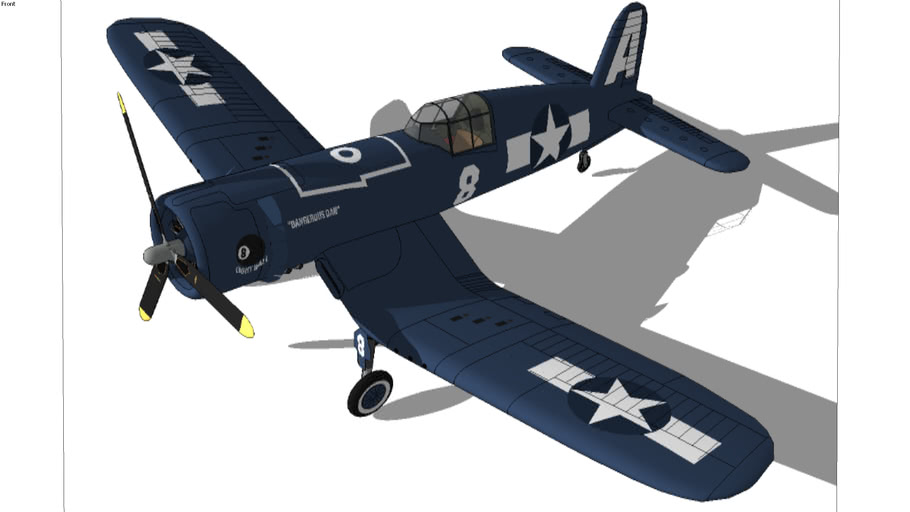 chance vought F4U-1 Corsair PART ONE  (wings)