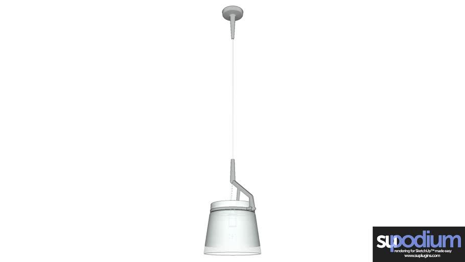 Podium Browser Luceplan GlassG2 CL light fixture
