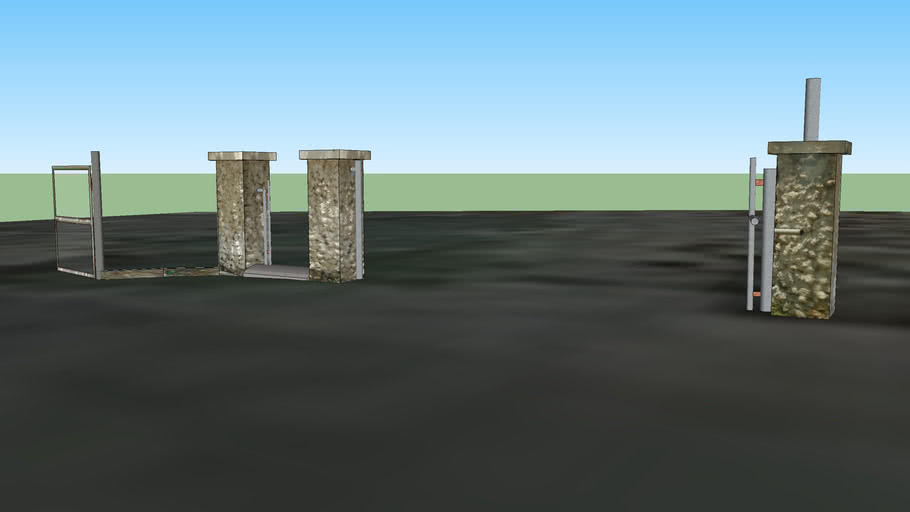 Antigua entrada hacia Adaro