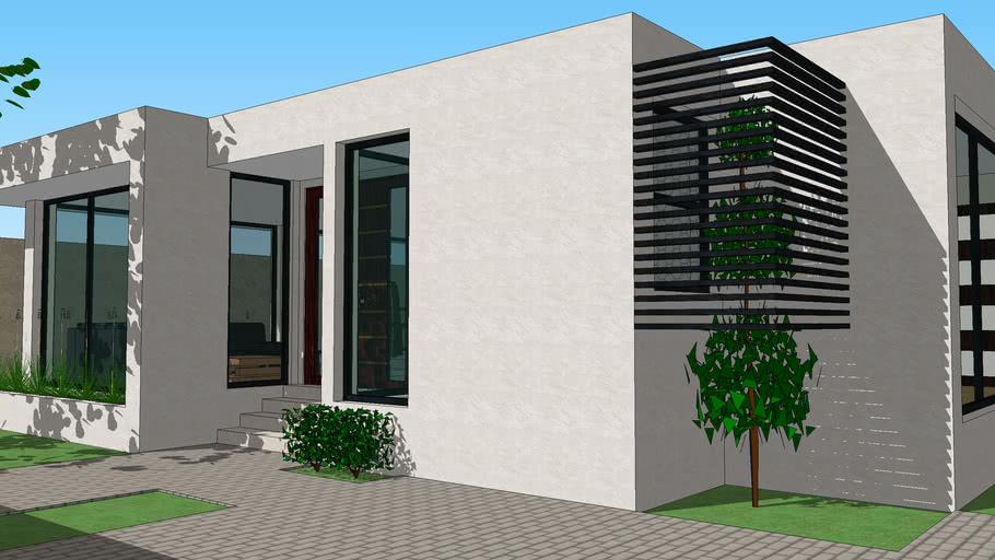 Casa Moderna 1   3D Warehouse