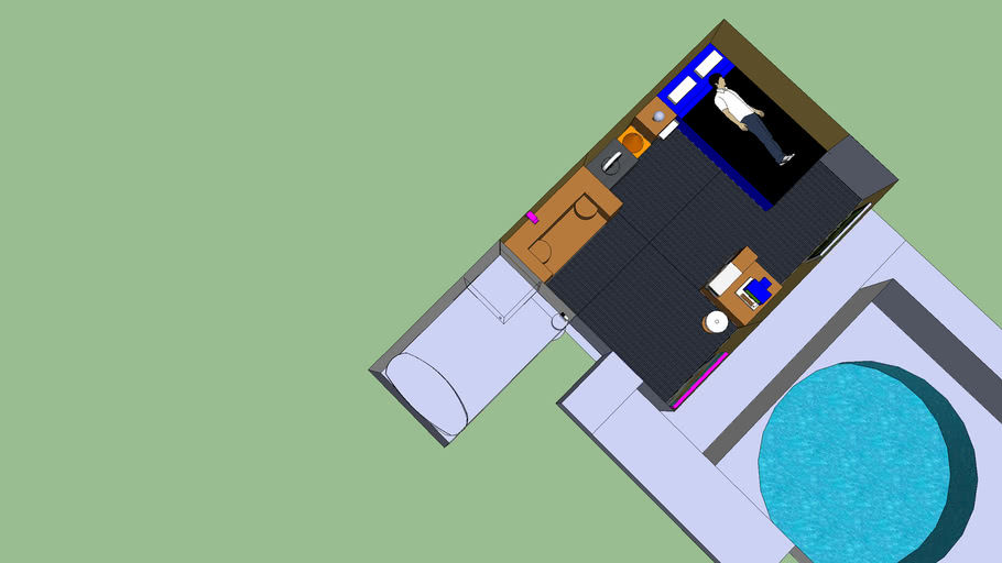 Hunta's Bedroom