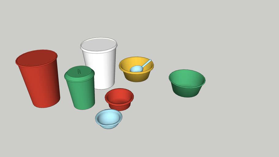 Bowls buckets