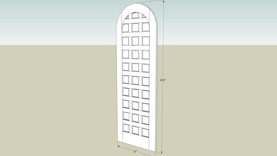 Radius Top Door