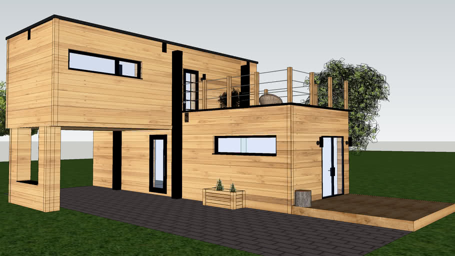 Modern residential container - ZRUP