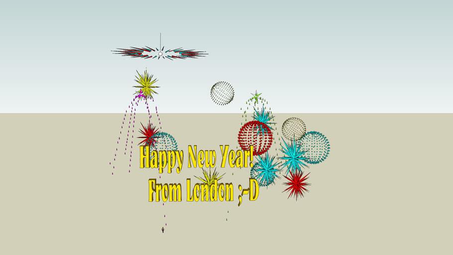 Happy New Year! (2009, London)