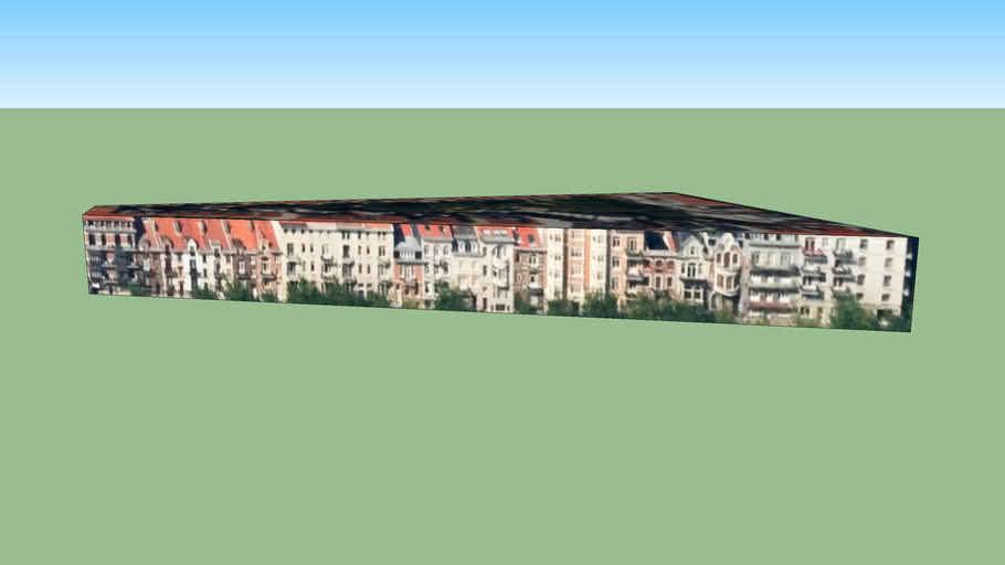 Building in 1030 Schaerbeek, Belgium