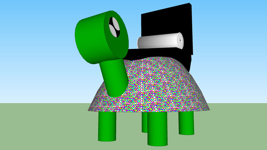Racer Turtle Neon