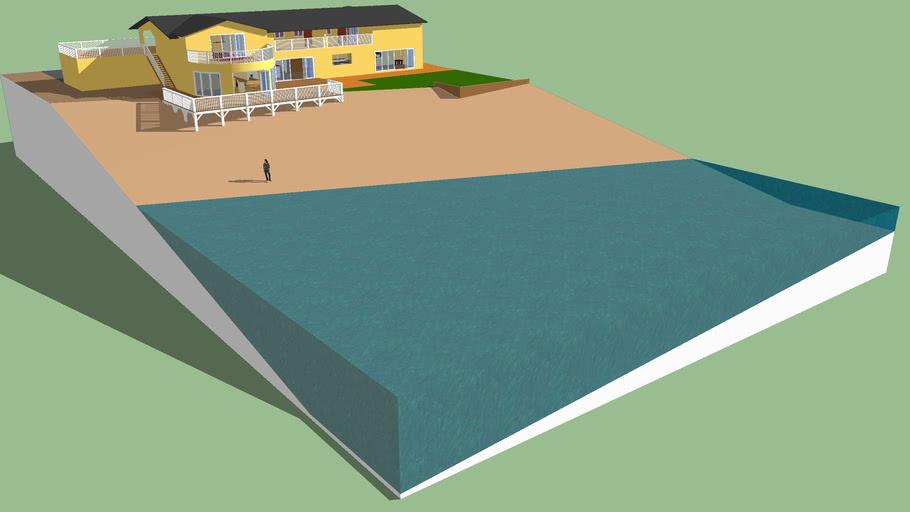 big beach house