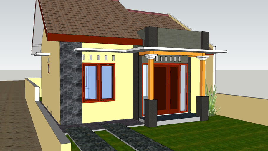 contoh rumah tipe 45