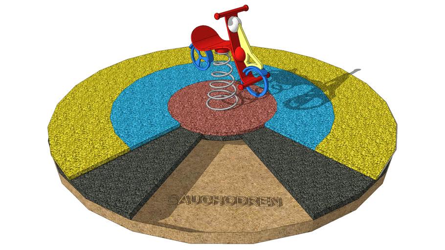 Pavimento zonas infantiles CAUCHODREN