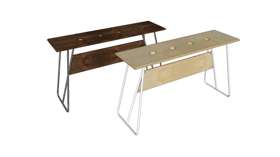 Trapeze High Table - Contemporary Furniture by Liqui