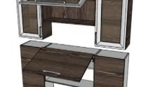 Cabinet kitchen 18 - Muebles de cocinas