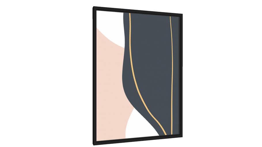Quadro Curves - Galeria9, por Rachel Moya