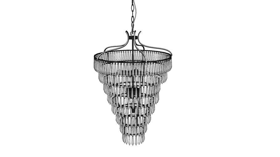 KARE 38979 Pendant Lamp Duke 8-Lite (Haengeleuchte Duke 8er)