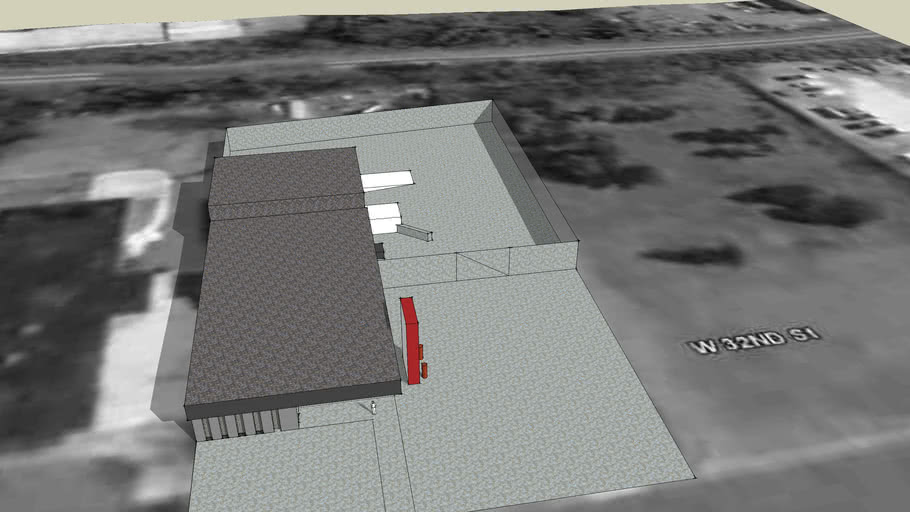 First 3-d building in Charlotte for Google Earth - 224 West 32nd Street