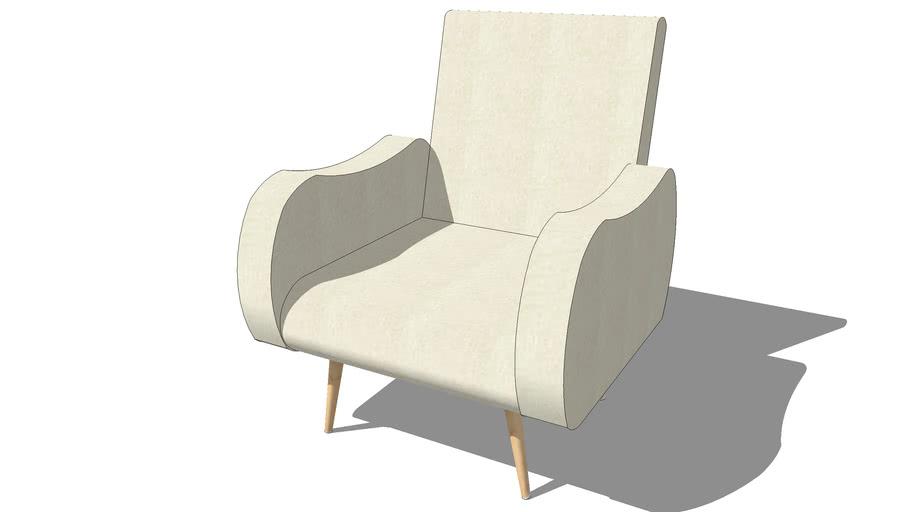Fauteuil WAVES beige, Maisons du monde, Réf. 147341, Prix : 299,90 €