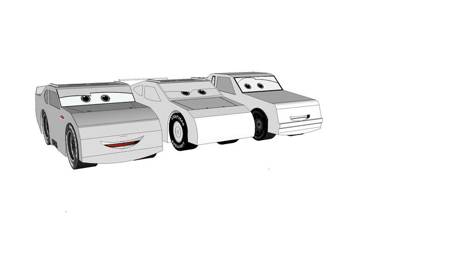 Design your own Piston Cup Race Car!