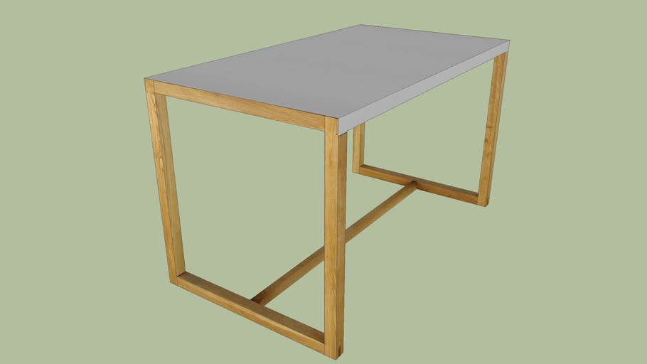 Habitat Kilo Dining Table 3d Warehouse