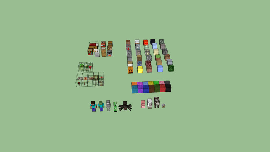 nearly everything in mindcraft!!!!!!!!!!!