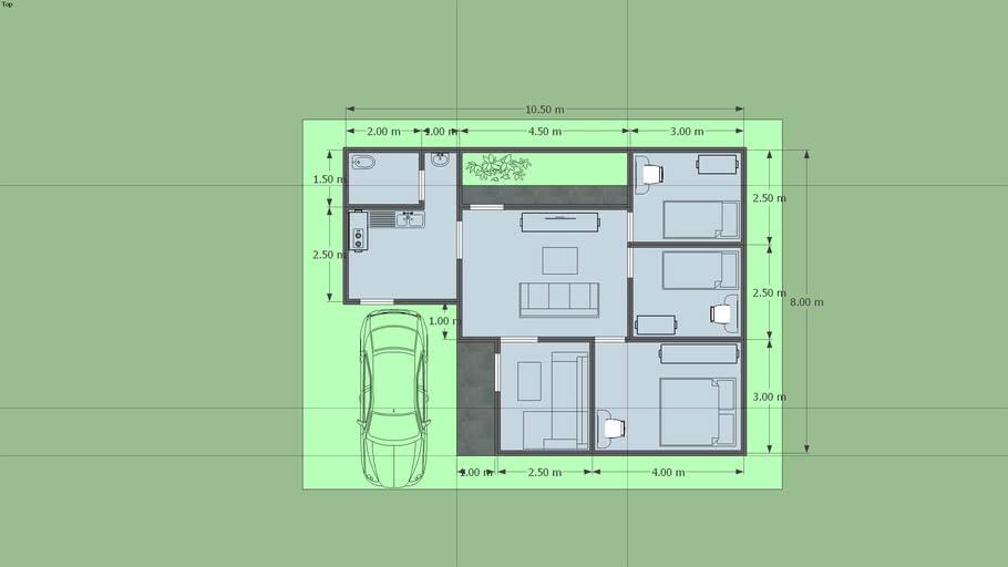 10.5X8 HOME DESIGN