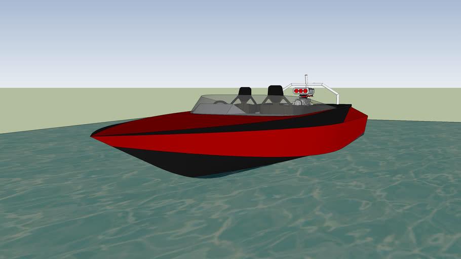 28ft Jet Boat