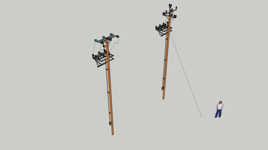 Pole High Voltage Switch