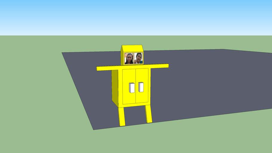 robot that eats chiba