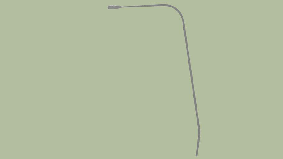 Curved Freeway Light