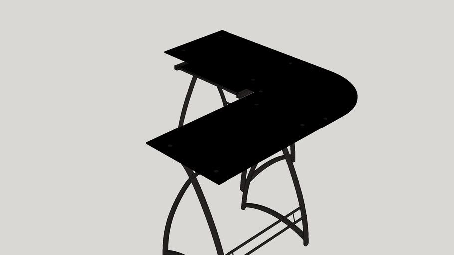 Oden L-Shaped Writing Desk