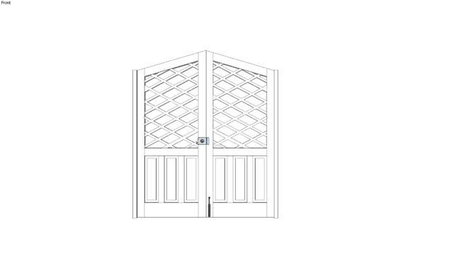 Puerta Celosias