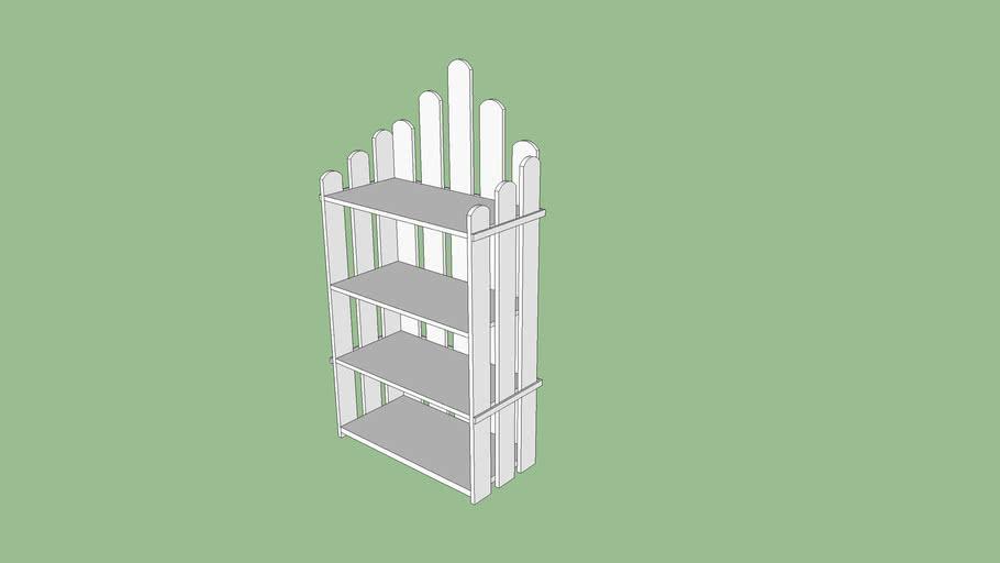 garden shelf, estante de jardim