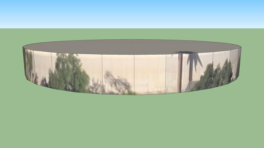 Water tank in Carlsbad, CA, USA