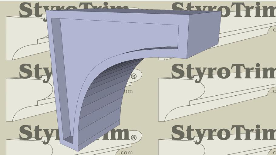StyroTrim Corbels