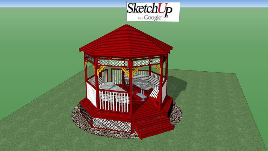 SketchUp 3d Challenge #4 – Outdoor Furniture