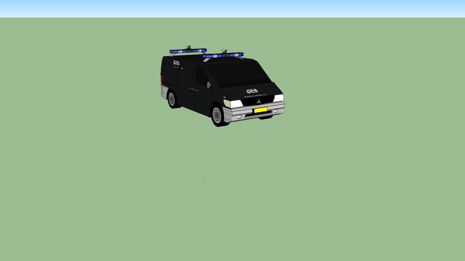 Vehiculo de la policia de mendoza (Argentina).G.E.S.:Grupo Especial De Seguridad