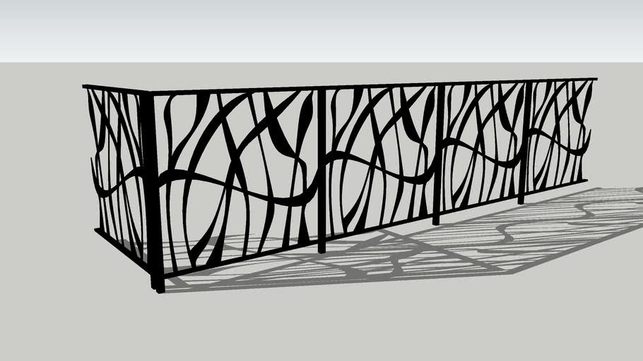 railing_004 | 3D Warehouse