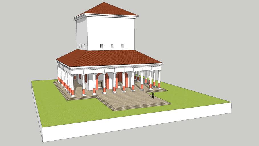 temple de Janus à Autun